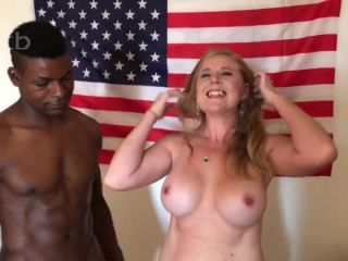 BBC filling her with cream and making her all sore