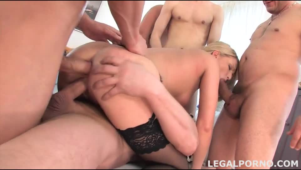 Amateur Blonde Bbc Gang Bang
