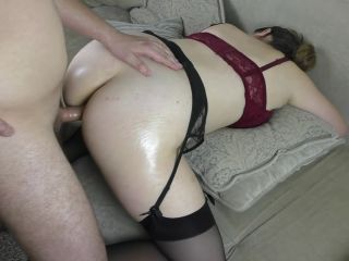 Teen Schoolgirl Moans In Pain From The First Anal Sex - Cum Inside Ana ...