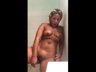 Blonde Teases And Fucks Asshole With A ToyTeaser Version
