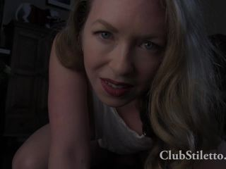 clubstiletto  mistress t  shiny face sit and suffer  fucking