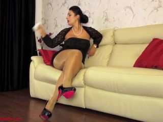 Ezada Sinn – If It Looks Like Glue And Smells Like Glue – Female Domination, Small Cock Humiliation - ezada sinn - masturbation online femdom