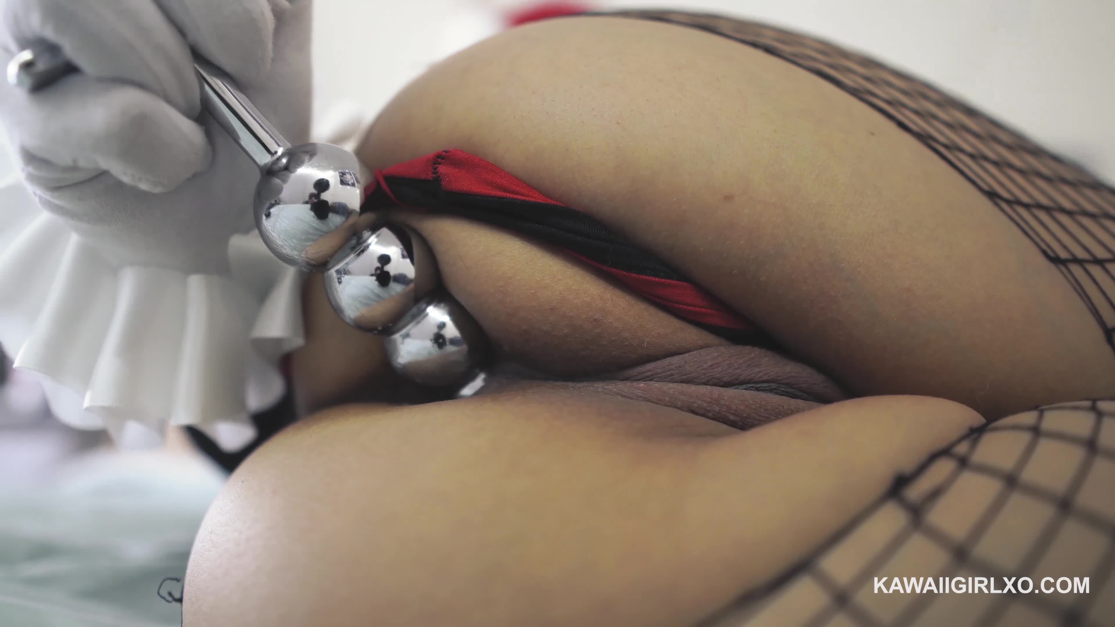Hot Girl Anal Dildo Ride