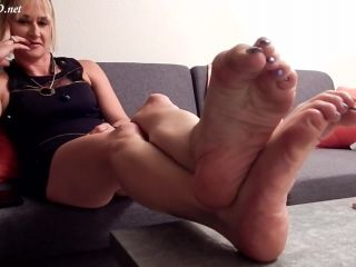 Anne's Long Mature Arched Soles FJ –