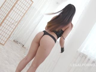 BlackEnded with May Thai 4 white then 4 black No Pussy Balls Deep Anal DAP Gapes Swallow Facial GIO722 / 22.07.2018