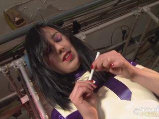Smoking Porn – 8382 – Latex Nun