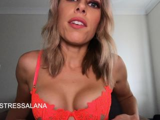 Mistress Alana – Day 4 Cleavage Worship for Jerkaholic – 7 days of cleavage worship