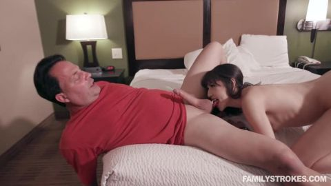 Judy Jolie / My Stepdaughter The Escort – Sometimes Daddy Fuck Me