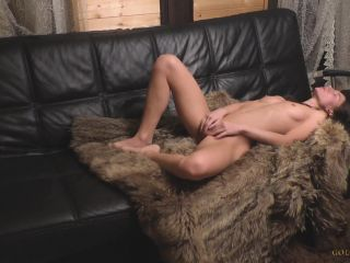 Venus in furs. Mistress orders the employee to lick her pussy and fuck her.