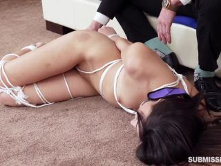 Hard fucked submissived tied up secretary Emily