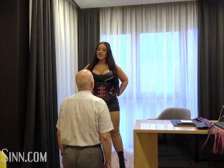 Femdom – Mistress Ezada Sinn – From butler to whipping boy
