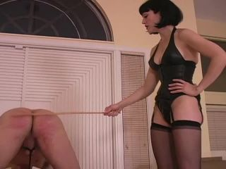 Double Domination – ClubDom – Caning the Bitch and Make Him Cry