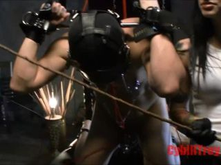 petite ebony anal bdsm porn | Cybill Troy — Anal Hook Caning | clamps