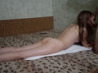 Nice Foxy - Accidentally cum in a schoolgirl when she was on top