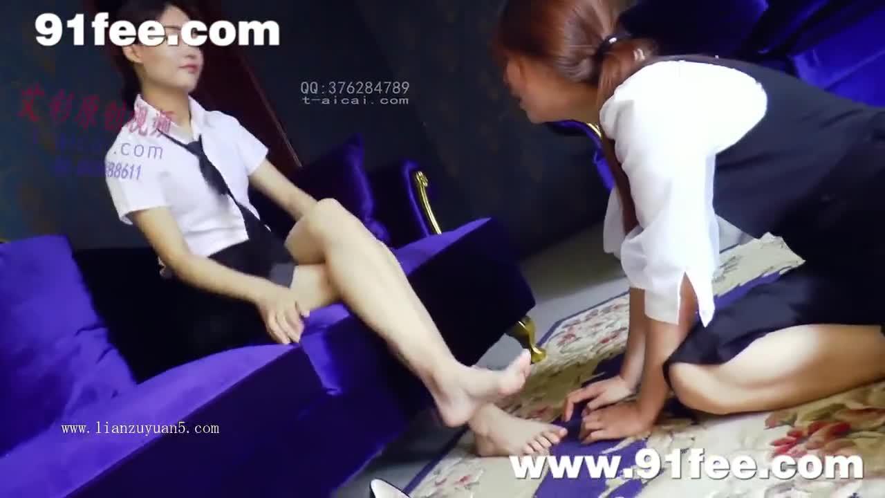 Lesbian Anal Foot Fucking