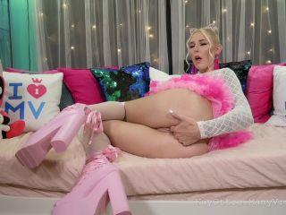 Kay Ottie - Cutie Gets a CreamPie with dragon dildo