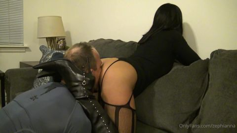 Goddess Zephy - Lick My Asshole, Slave! [FullHD 1080P]