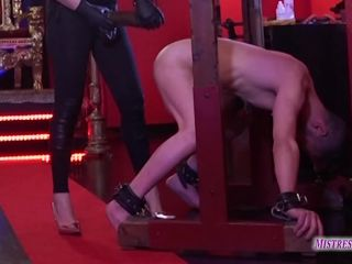 "MISTRESS ISIDE: ""THE BEAM"" (PEGGING)"
