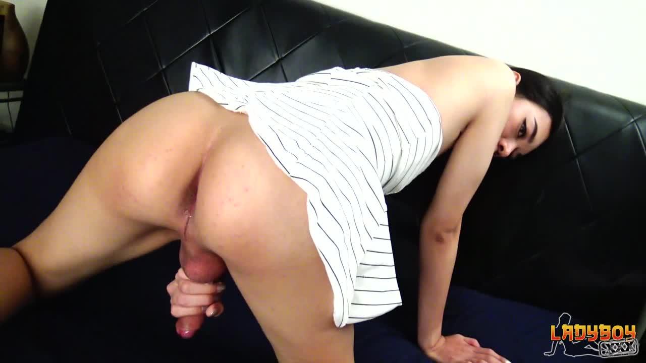 Sexy Japanese Ladyboy Fucked