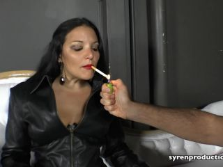 Leather Fetish – Syren Productions – Leather Clad Smoking Queen Starring Mistress Michelle Lacy