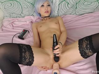 Online tube ManyVids Webcams Video presents Girl AsianDreamX in Toys Edging OIL Brush play to ORGASM OIL