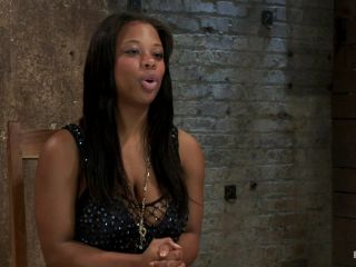 Kink_com - 18yr experience very first hardcore bondage scene. Huge natural tits & perfect ass. Made to squirt!