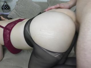 Teen Big Ass Assjob In Pantyhose - Amateur, Cum Ass