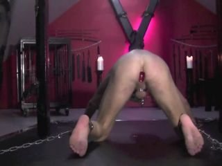 danish femdom  slave abuse  big dildo