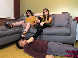 Brat Girls – Brat Princess 2 – Alexa and Natalya – Ignored Boot Worship leads to Foot Worship Servitude (Part 2)