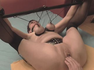 Fisting orgasms in bondage