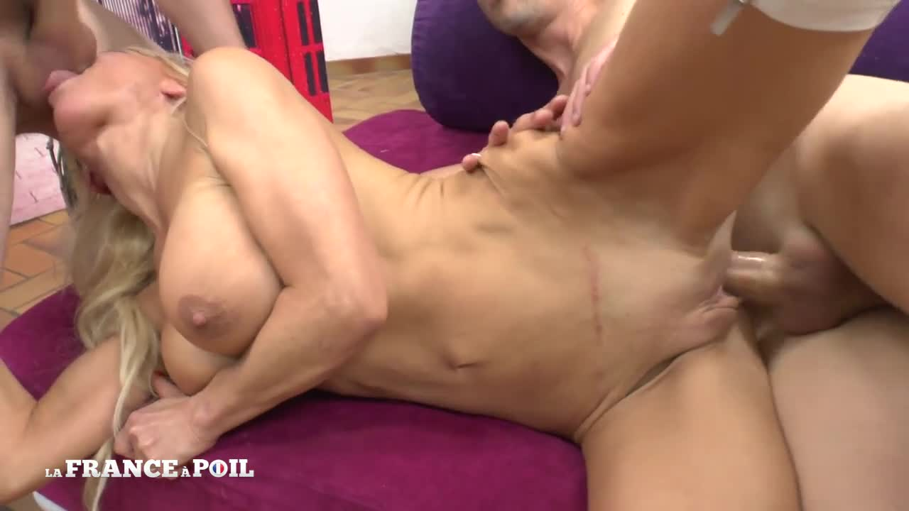 Wife Gets Double Facial