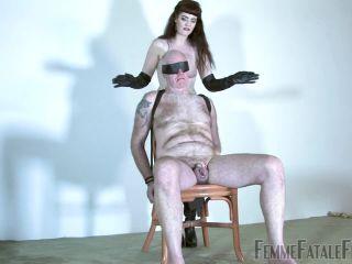 Porn online [Femdom 2018] FemmeFataleFilms – Senses Of Leather – Complete Film. Starring Miss Zoe [leather thigh boots, spitting, tease and denial] femdom