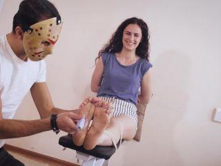 Tickling torture – Russian Fetish – Praskovya – Tickling on the bench | soles tickling | feet fart fetish pornhub