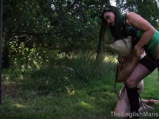 The English Mansion – Mistress Amrita – Taken Bound Whipped, Complete Movie – Femdom