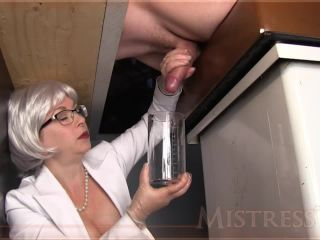 Mistress T - Pre-Cum Collection Milking