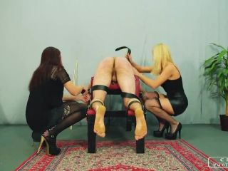 Hard Caning – CRUEL PUNISHMENTS – SEVERE FEMDOM – Sado Ladies part1 – Lady Anette and Lady Foxy