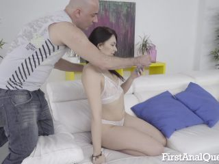 FirstAnalQuest presents 525 Young Hannah Vivienne Anal Creampie –