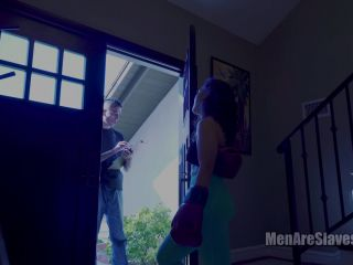 "MENARESLAVES: ""MAY I SEE THE MAN OF THE HOUSE?"" (1080 HD) (CBT, ASIAN)"