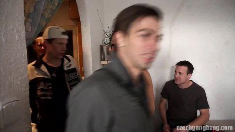 Czech Gang Bang - The host gets gang-impregnated