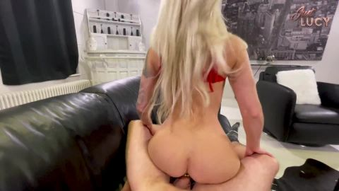 JustLucy - Is my Pussy the tightest - Fuck me till I cum when a buttplug sticks in my ass [FullHD 1080P]