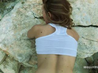 Molly Pills - PornHubPremium - Big Butt Amateur POV Hiking Caught Pu ...
