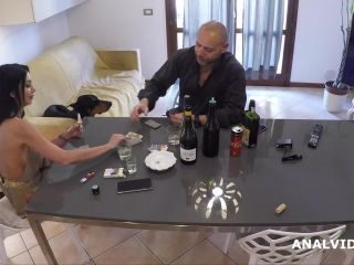 Laura Fiorentino gets giant plug and peeing domination