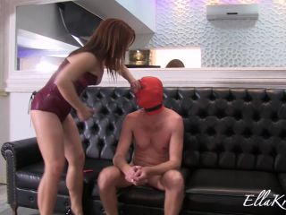Bondage – Goddess Ella Kross – Severely Punishing a Slave's Ass with Whipping