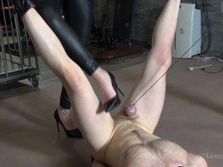 Mistress Gaia – Just Choking – Foot Worship – Forced Orgasm, Vibrator on gangbang mind control fetish