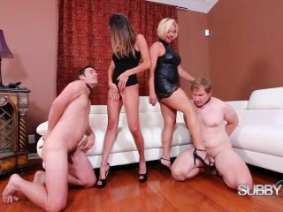subby hubby: dava and brianna bring home slaves part 3: chindo slave