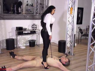 Mistress Ezada Sinn – A bitch for My heels – Shoe Fetish