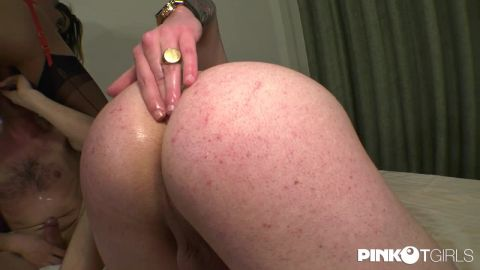 Bianca Hills - Bianca Hills Buggers A Guy And His Friend (720p)