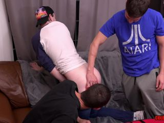 Porn Colby and mickey butt fuck the pizza boy raw