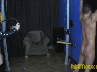 Cybill Troy FemDom Anti-Sex League  Whipped Into Shape by Cybill Troy