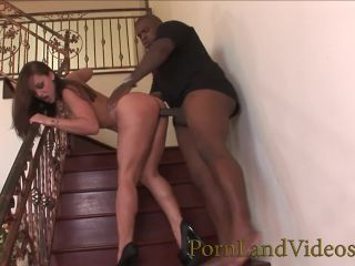 Dirty Brunette Mom riding BBC with Big Ass